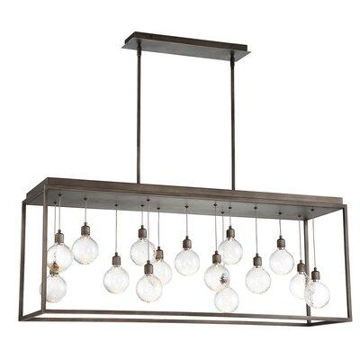 Fenagh 15-Light LED Kitchen Island Pendant