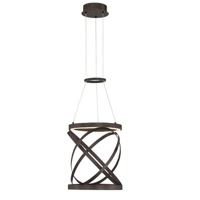 Shealey 1- Light LED Geometric Pendant