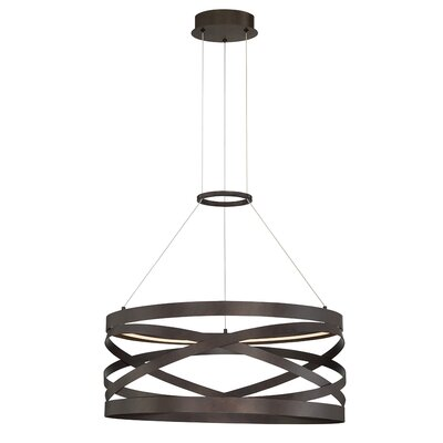 Shealey 1-Light LED Geometric Pendant