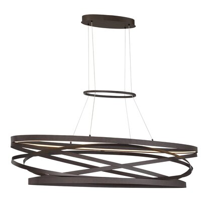 Shealey 2-Light LED geometric Pendant