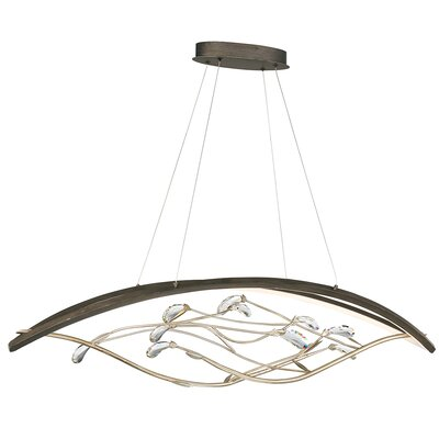 Sheena Blooming Linear 2-Light LED Mini Chandelier
