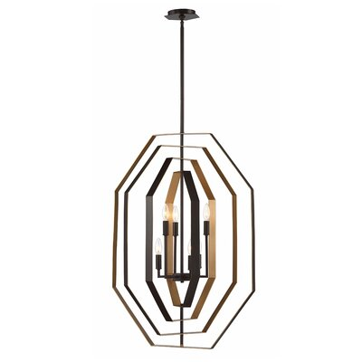 Morales Customizable 6-Light Candle-Style Chandelier