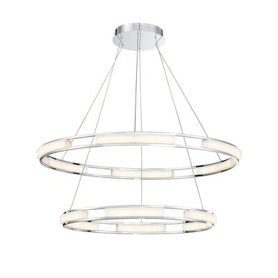 Sturtz 8-Light LED Cluster Pendant