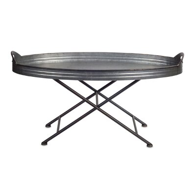 Griton Tray Table Size: 36.5 H x 18 W x 18 D