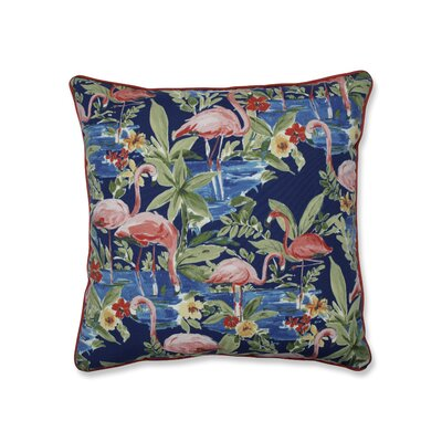 Martell Flamingoing Lagoon Indoor/Outdoor Floor Pillow