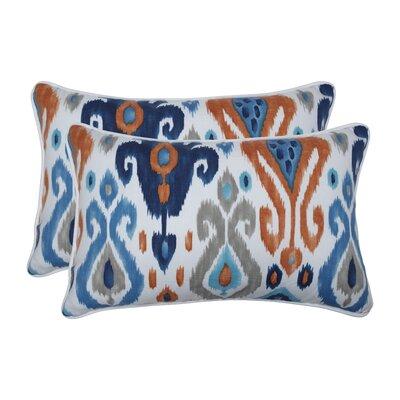 Albertson Azure Indoor/Outdoor Lumbar Pillow
