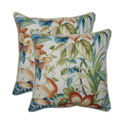 Gladeview Botanical Glow Tiger Lily Indoor/Outdoor Throw Pillow