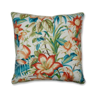 Southold Botanical Glow Tiger Lily Indoor/Outdoor Floor Pillow