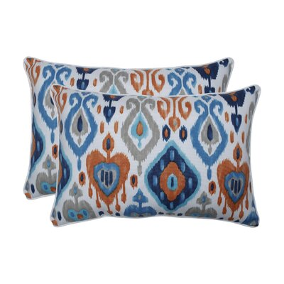 Albertus Azure Indoor/Outdoor Lumbar Pillow
