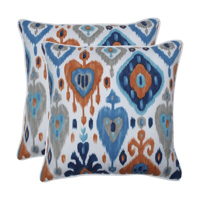 Aliante Azure Indoor/Outdoor Throw Pillow