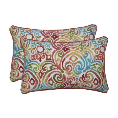 Alborghus Corinthian Dapple Indoor/Outdoor Lumbar Pillow