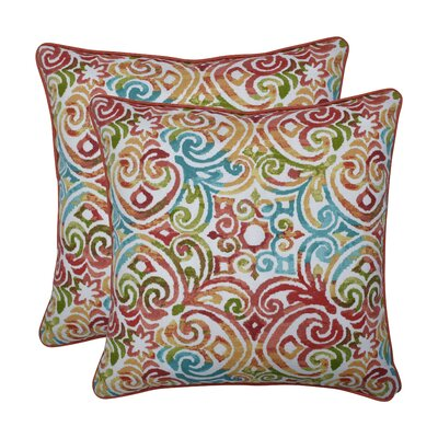 Alcron Corinthian Dapple Indoor/Outdoor Throw Pillow