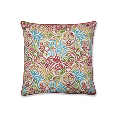 Aldfreck Corinthian Dapple Indoor/Outdoor Floor Pillow