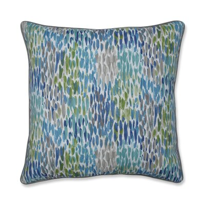 Graybill Make It Rain Cerulean Indoor/Outdoor Throw Pillow
