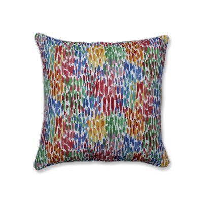 Greater Taree Make It Rain Zinnia Indoor/Outdoor Throw Pillow