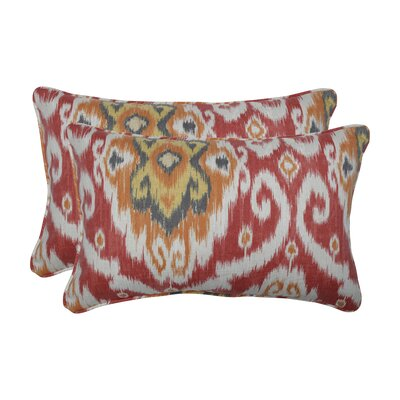 Allerton Coral Indoor/Outdoor Lumbar Pillow