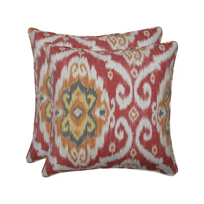 Alfredson Coral Indoor/Outdoor Throw Pillow