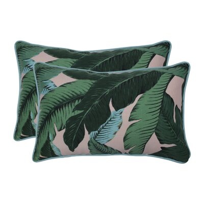 Elmfield Swaying Palms Indoor/Outdoor Lumbar Pillow