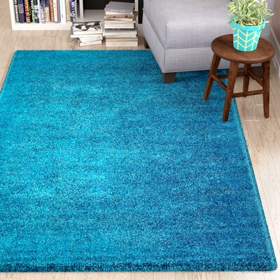 Truett Turquoise Area Rug Rug Size: Rectangle 33 x 53
