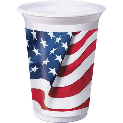 Freedoms Flag 16 oz. Plastic Everyday Cup DTC328361TUMB