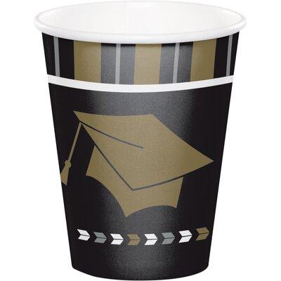 Glitz Graduation 9 oz. Paper Everyday Cup DTC327475CUP