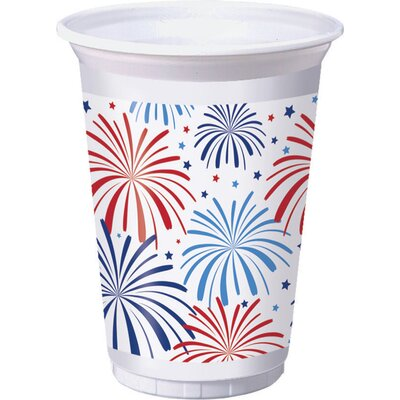 Patriotic 16 oz. Plastic Everyday Cup DTC328362TUMB