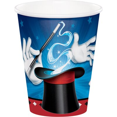 Magic 9 oz. Paper Party Cup DTC322202CUP