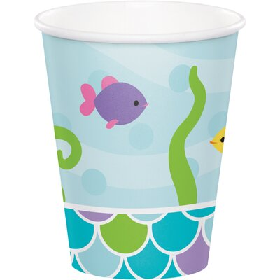 Mermaid Friends 9 oz. Paper Everyday Cup DTC317265CUP