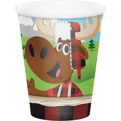 Lum-Bear Jack 9 oz. Paper Everyday Cup DTC321821CUP