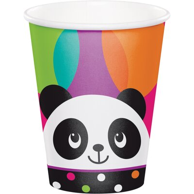 Panda 9 oz. Paper Everyday Cup DTC322154CUP