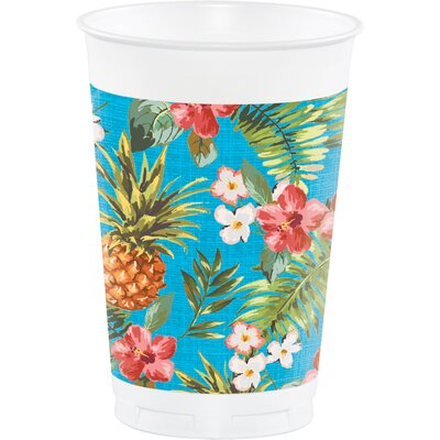 Aloha 16 oz. Plastic Everyday Cup DTC320000TUMB