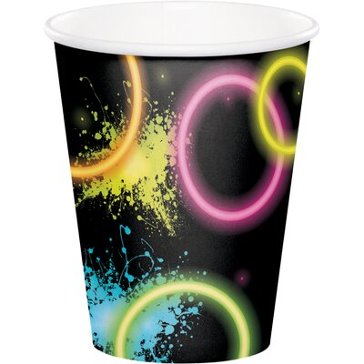 Glow 9 oz. Paper Party Cup DTC318133CUP