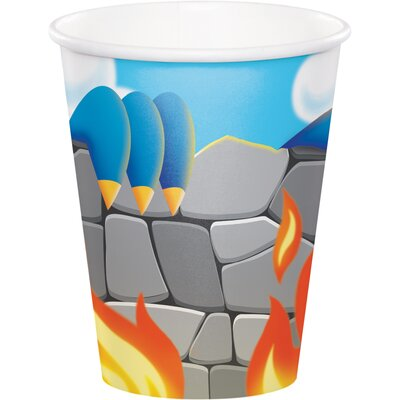Dragon 9 oz. Paper Everyday Cup DTC322225CUP