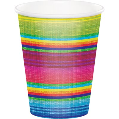 Serape 9 oz. Paper Everyday Cup DTC322287CUP