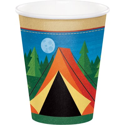 Camping 9 oz. Paper Everyday Cup DTC329319CUP