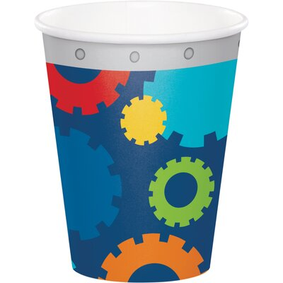 Robot 9 oz. Paper Party Cup DTC331780CUP