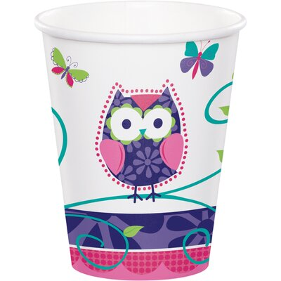 Owl Pal Birthday 9 oz. Paper Everyday Cup DTC375624CUP