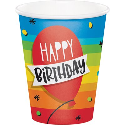 Cake 9 oz. Paper Everyday Cup DTC332464CUP