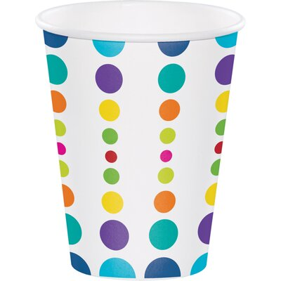 Birthday Pop 12 oz. Paper Everyday Cup DTC375834CUP