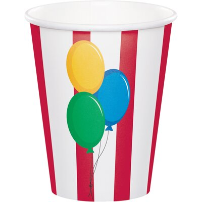 Circus 9 oz. Paper Everyday Cup DTC375684CUP