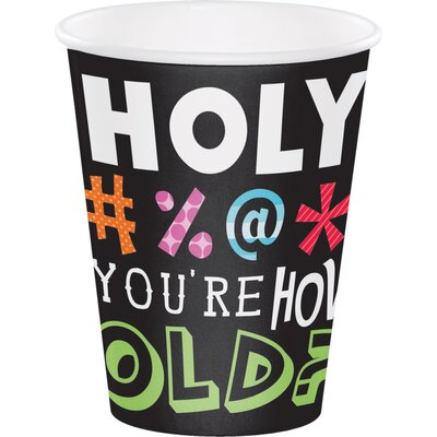 Holy Bleep 12 oz. Paper Everyday Cup DTC375014CUP