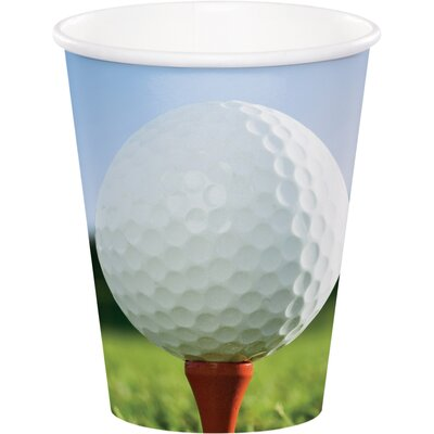 Golf 9 oz. Paper Everyday Cup DTC377965CUP