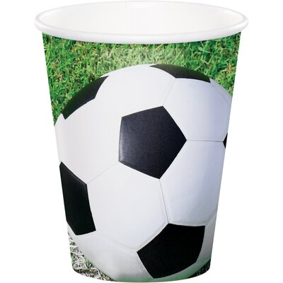 Soccer 9 oz. Paper Everyday Cup DTC377966CUP