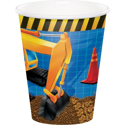 Under Construction 9 oz. Paper Everyday Cup DTC375955CUP
