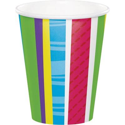 Bright and Bold 9 oz. Paper Everyday Cup DTC379412CUP