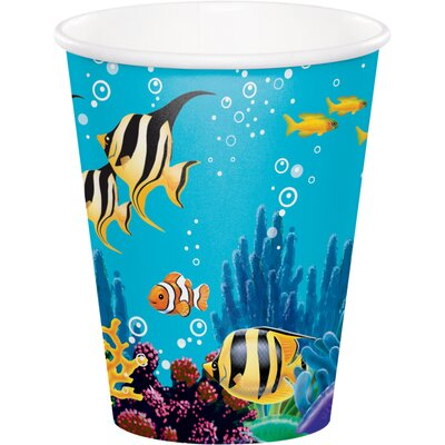 Ocean 9 oz. Paper Party Cup DTC375325CUP