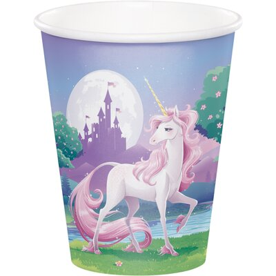 Unicorn Fantasy 9 oz. Paper Everyday Cup DTC375603CUP