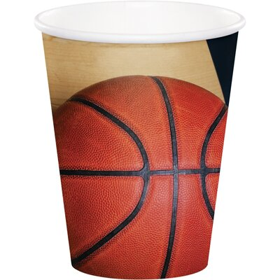 Basketball 9 oz. Paper Everyday Cup DTC377964CUP