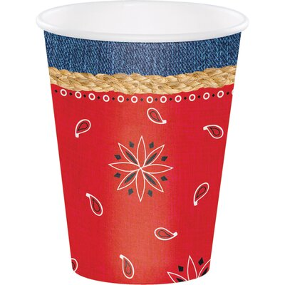 Bandanarama 12 oz. Paper Everyday Cup DTC377492CUP