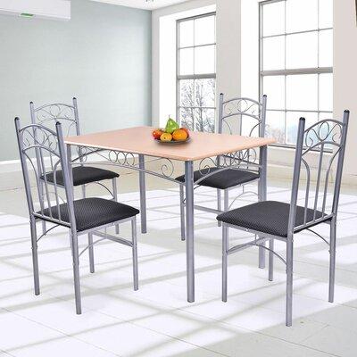 Opalstone 5 Piece Dining Set
